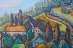 Toscanisches-Dorf
