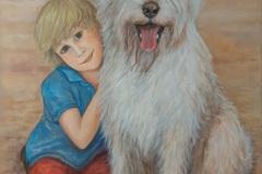 Junge-mit-seinem-Hund