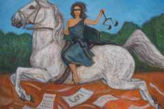 Justitia-die-Paragraphenreiterin