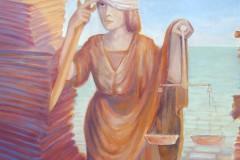 Justitia-im-Aktenmeer
