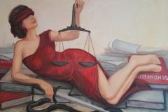 Justitia-macht-Pause